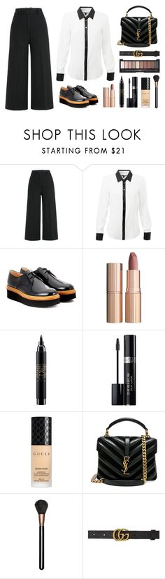 """Chata de Galocha - 27/06/2017"" by jessblock on Polyvore featuring Jil Sander, Tod's, Charlotte Tilbury, MAC Cosmetics, Christian Dior, Gucci and Yves Saint Laurent"