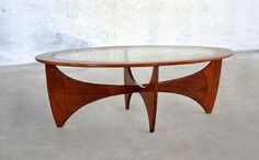 Teak Astro coffee table by G- Plan E. Gomme, dating from the 1960-70's