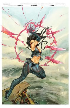 Cyblade #1 by Comic Artist Kenneth Rocafort #Comics #Illustration #Drawing  Auction your comics on http://www.comicbazaar.co.uk