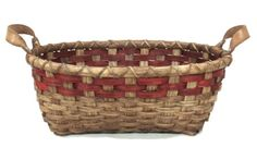 Welcome in the new year with a free basket weaving pattern - the Yarn Basket.