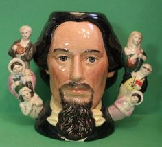 Royal Doulton Charles Dickens Character Double Handle Large Toby Mug / Jug D6939 #babescollectibles