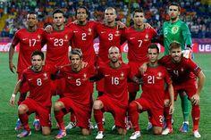 Equipo de Portugal en el mundial