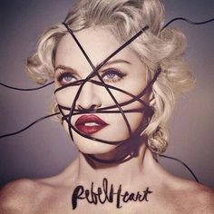 Madonna - Rebel Heart 2015 seems to be the year of the rebel   www.rebelology.com.au #rebelology  #divinerebel
