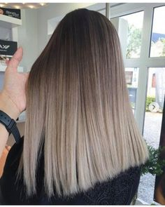 Long Wavy Ash-Brown Balayage - 20 Light Brown Hair Color Ideas for Your New Look - The Trending Hairstyle Brown Hair Cuts, Brown Blonde Hair, Brown Hair With Highlights, Light Brown Hair, Dark Hair, Blonde Brunette, New Hair Color Trends, New Hair Colors, Brown Hair Colors