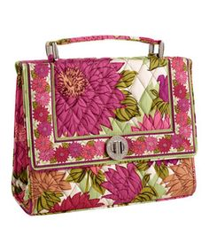 dd84cbb918a7 Vera Bradley Hello Dahlia! Julia Convertible Crossbody Bag