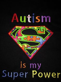 AUTISM Superhero Super Hero Onesie or TShirt  by ChloeandCate, $23.95