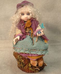List+of+Doll+Artists | Gail Lackey's Gypsy Girl $1560.00