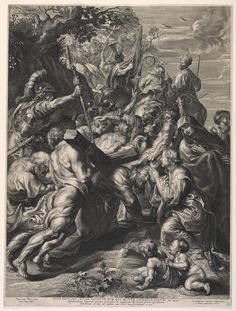Paulus Pontius, Flemish ( 1603 - After Peter Paul Rubens, Flemish (Siegen, Westphalia 1577 - 1640 Antwerp, Belgium) Title Christ Bearing the Cross (after Rubens) Jesus On Cross Tattoo, Jesus On The Cross, Ange Demon, Demon Art, Religious Paintings, Religious Art, Catholic Pictures, Apocalypse Art, 4 Tattoo