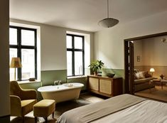 It seems that new Sanders hotel in Copenhagen is not less than a hundred years old, but it will first open its doors to visitors only this fall. The hotel ✌Pufikhomes - source of home inspiration Most Luxurious Hotels, Luxurious Bedrooms, Luxury Hotels, Top Hotels, Cheap Hotels, Best Hotels, Luxury Lodges, Unusual Hotels, Hotel Copenhagen