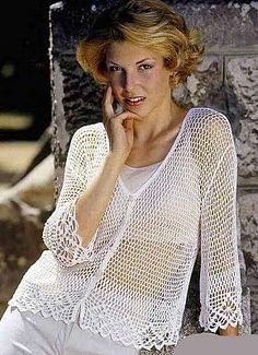 As Receitas de Crochê: Blusas de crochê - gráfico