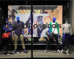 VM | Window Visual Merchandising | VM | Window Display | Adidas - Berlin - Germany