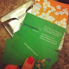 Cartão da Papermint! ❤ www.papermint.com.br - @papermintbr- #webstagram