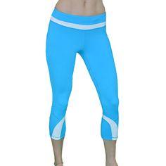 Madison Sport Women's 'Gina' Activewear Capri Leggings | Overstock.com  Shopping - The