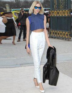 Celebrity Fashion Trend: crop tops   ELLE UK