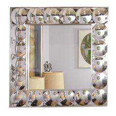 Back Up Art Mirror Wall Mounted Mirror, Mirror Art, Antique Furniture, Modern Furniture, Funky Mirrors, Op Art, Auction, Mid Century, Fine Art