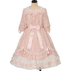Girly Outfits, Vintage Outfits, Cute Outfits, Kawaii Fashion, Lolita Fashion, Short One Piece, Gothic Lolita, Lolita Style, Angelic Pretty