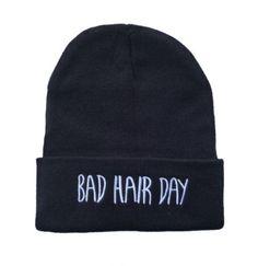 Soyagift black fashion Bad Hair Day Beanie hat hiphop Beanie Hat Knit  Beanie unsex hip hop c90a6e76b07