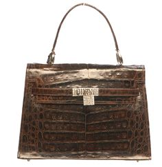 Deals Save Up To 67 Off Retail Prices Women S Genuine Alligator Skin Leather Tote Designer Handbagsluxury
