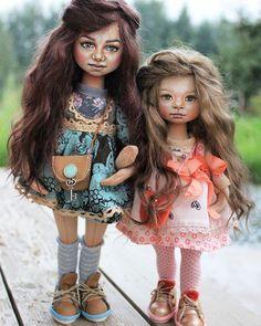 Новые  куколки с легким сходством. Мама  с дочей ☺#текстильнаякукла #кукларучнойработы #хендмейд #handmade #handmadedoll #doll #textiledoll #текстильнаякуколка #мастеркрафт