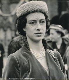 Princess Margaret at Bowes-Lyon wedding