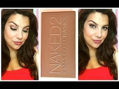 Urban Decay Naked Basics 2 pallet tutorial