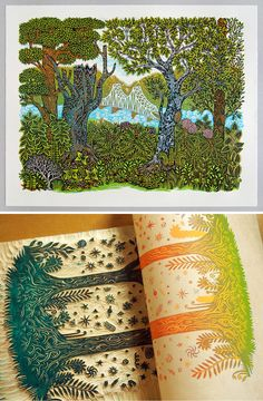 Printing, Carving, Paper, Color, Art, Art Background, Wood Carvings, Colour, Kunst