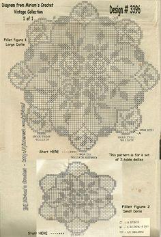 trittico | Hobby lavori femminili - ricamo - uncinetto - maglia