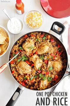 One Pot Meal Chicken and Rice