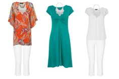 Necklace & shoes take these day outfits to Evening wear