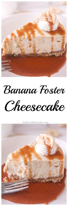 Love cheesecake? Love Banana Foster? Why not combine the two in this INSANELY DELICIOUS Foster Cheesecake!