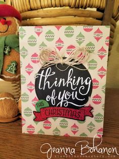 PCC221 Stampin' Up! Time of Year Color combo challege by Jeanna Bohanon