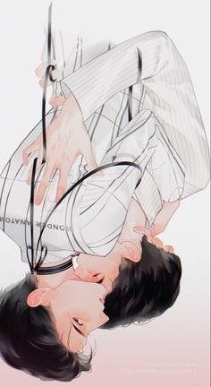 Oh My Venus, My Love From The Star, Japanese Drama, Cute Gay Couples, Jikook, Anime Love, Fan Art, Drawings, Dramas