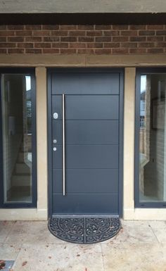 Gallery of Modern Doors | Modern Garage Doors- Cerberus Doors ...