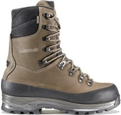 Lowa Tibet GTX Hi Hiking Boots - Men's A taller version of the award-winning original, waterproof Lowa Tibet GTX Hi hiking boots offer extra height for added support and stability that's ideal for carrying heavy loads over rugged terrain. Hiking Wear, Mens Hiking Boots, Rugged Style, Snow Boots, Winter Boots, Men's Boots, Tibet, Backpacking Boots, Steel Toe Shoes