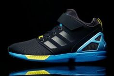 ahhhhhhhh, i want it so badly, but that price though lol  adidas Originals ZX Flux NPS Mid Core Black - Bright Yellow