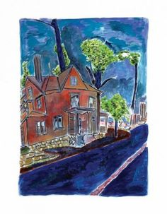 2013 Images - House on Union Street 2013 - Howarth Gallery Bob Dylan The Drawn Blank Series