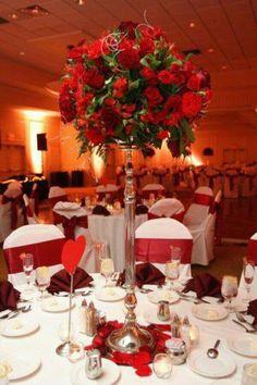 37 sparkling ideas for red themed wedding red elegant weddings tema slentim junglespirit Gallery
