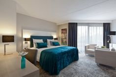Comfortkamer in hotel van der Valk Haagsche Schouw Leiden