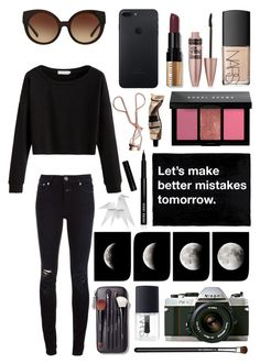 """""""Better mistakes! #156"""" by lauren-yarrow ❤ liked on Polyvore featuring Closed, WALL, Michael Kors, Bobbi Brown Cosmetics, NARS Cosmetics, Charlotte Tilbury, Nikon, Maybelline, Aesop and Hermès"""