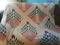 Antique Hand Sewn Tree of Life Quilt | eBay, lilsissys
