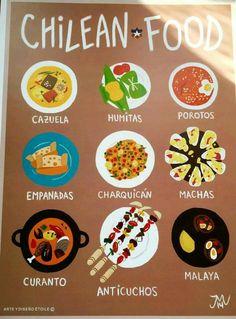 Chilean Recipes, Travel Books, Salsa Verde, Koh Tao, South America, Peru, Spanish, Tours, Camping