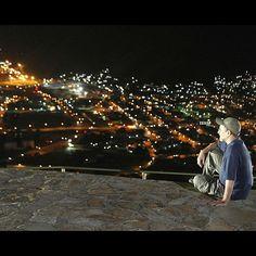 Vista nocturna de Puerto Cabello desde el Fortín Solano. Puerto Cabello (Foto: Henry Delgado)
