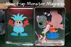 magnetic monsters!