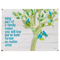 Perfect as a delightful focal point or in an eye-catching vignette, this planked wood wall decor brings a charming message to your home. Place it in your kit...