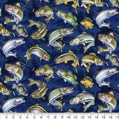 HOP TO IT Frogs in Pond 100/% Coton FAT QUARTERS de QT tissus