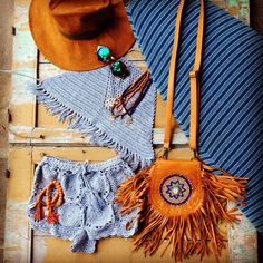 Beach inspiration in crochet from Andi Bagus