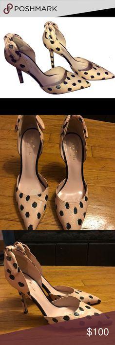 Kate Spade Lila Pink/Black Pumps Elegant and exotic Kate Spade Kate Spade Shoes Heels
