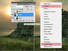 #Photoshop Gradient Map Tutorial for Beginners