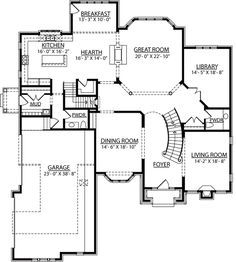 Best Images Of 2 Story House Plans With Curved Stairs 400 x 300