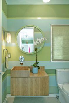 modern powder room by Dufner Heighes Inc--bathroom?
